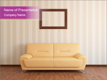 Rest room PowerPoint Template - Slide 1