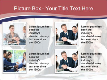 Mature businessman PowerPoint Template - Slide 14