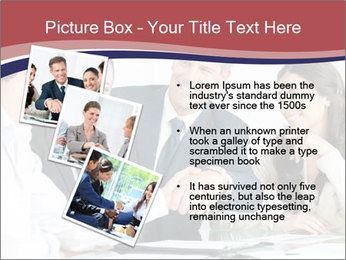 Mature businessman PowerPoint Template - Slide 17