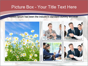 Mature businessman PowerPoint Template - Slide 19