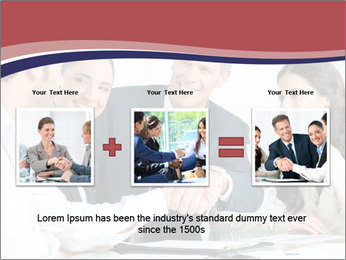 Mature businessman PowerPoint Template - Slide 22