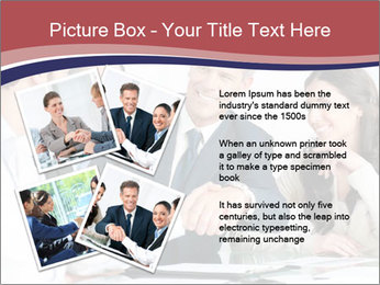 Mature businessman PowerPoint Template - Slide 23