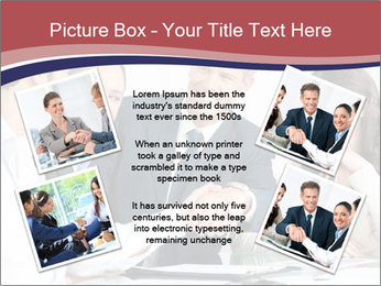 Mature businessman PowerPoint Template - Slide 24