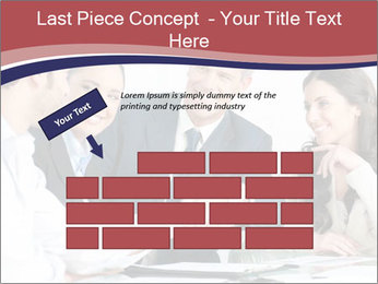 Mature businessman PowerPoint Template - Slide 46