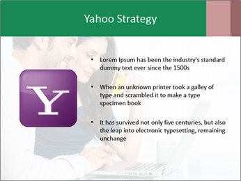 Couple buying online PowerPoint Template - Slide 11