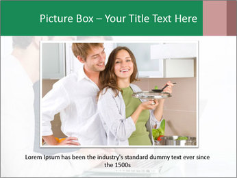 Couple buying online PowerPoint Template - Slide 15