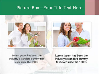 Couple buying online PowerPoint Template - Slide 18