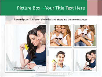 Couple buying online PowerPoint Template - Slide 19
