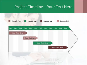 Couple buying online PowerPoint Templates - Slide 25