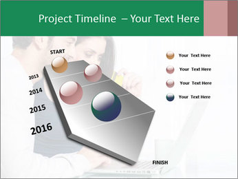 Couple buying online PowerPoint Template - Slide 26