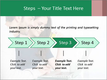 Couple buying online PowerPoint Templates - Slide 4