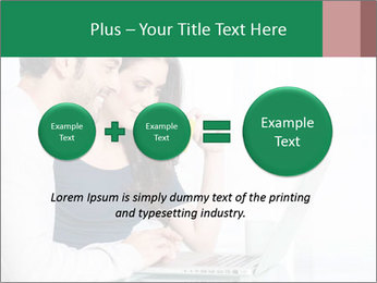 Couple buying online PowerPoint Template - Slide 75