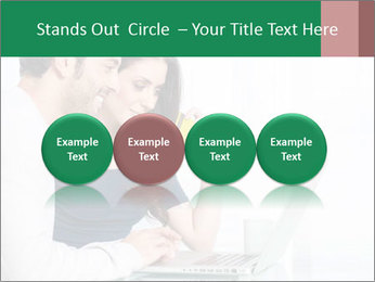 Couple buying online PowerPoint Template - Slide 76