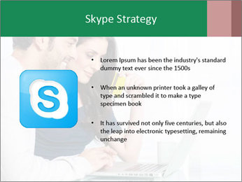 Couple buying online PowerPoint Templates - Slide 8