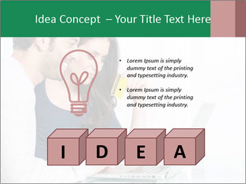 Couple buying online PowerPoint Template - Slide 80