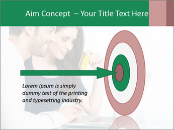Couple buying online PowerPoint Template - Slide 83