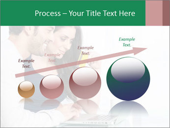 Couple buying online PowerPoint Template - Slide 87