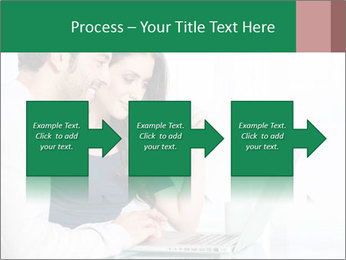 Couple buying online PowerPoint Template - Slide 88