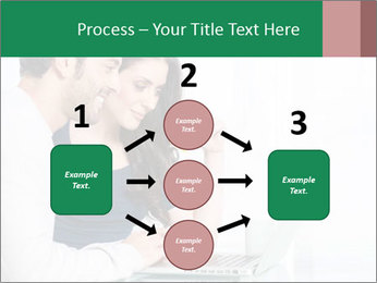 Couple buying online PowerPoint Templates - Slide 92