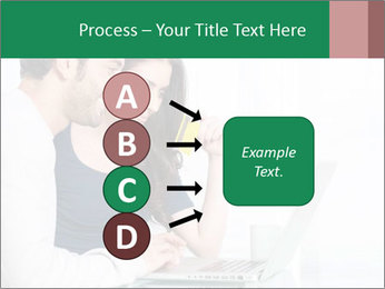Couple buying online PowerPoint Template - Slide 94