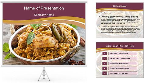 Biryani PowerPoint Template