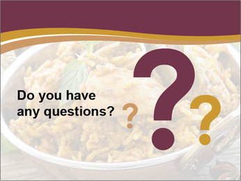 Biryani PowerPoint Template - Slide 96
