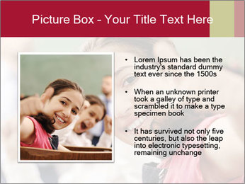 Happy children smiling PowerPoint Template - Slide 13