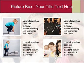 Happy children smiling PowerPoint Template - Slide 14