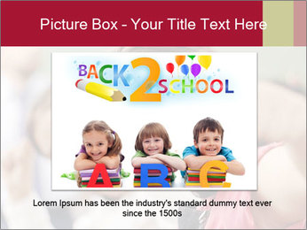 Happy children smiling PowerPoint Template - Slide 16