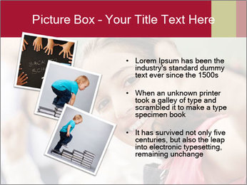Happy children smiling PowerPoint Template - Slide 17