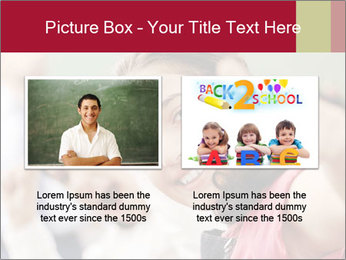 Happy children smiling PowerPoint Template - Slide 18