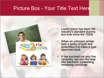 Happy children smiling PowerPoint Template - Slide 20