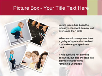 Happy children smiling PowerPoint Template - Slide 23