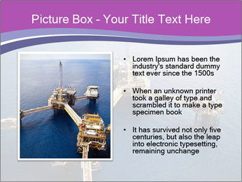 Oil refinery PowerPoint Template - Slide 13
