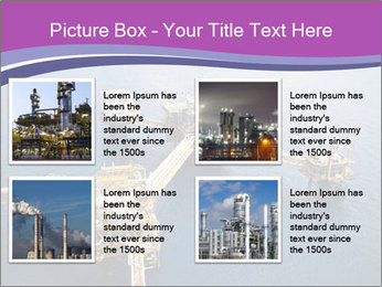 Oil refinery PowerPoint Template - Slide 14