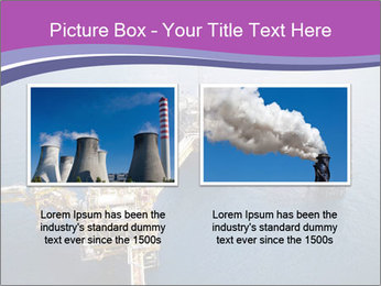 Oil refinery PowerPoint Template - Slide 18