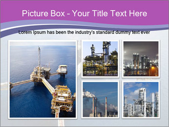 Oil refinery PowerPoint Template - Slide 19