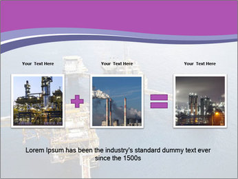 Oil refinery PowerPoint Template - Slide 22