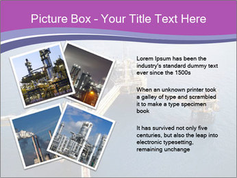 Oil refinery PowerPoint Template - Slide 23