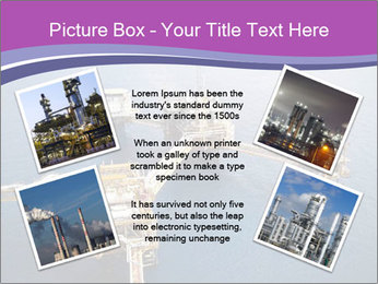 Oil refinery PowerPoint Template - Slide 24