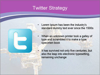 Oil refinery PowerPoint Template - Slide 9