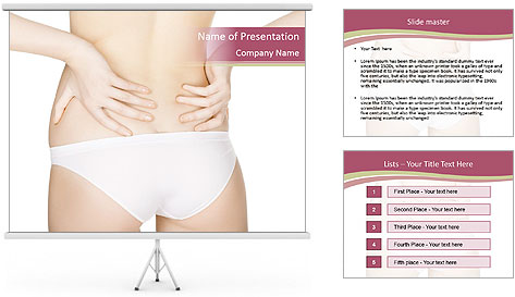Pain back PowerPoint Template