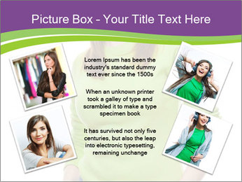Smiling woman PowerPoint Templates - Slide 24