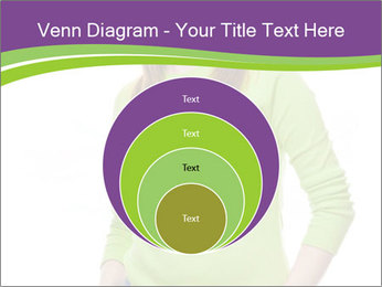 Smiling woman PowerPoint Templates - Slide 34