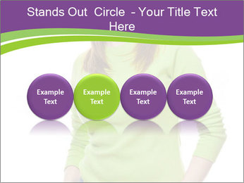 Smiling woman PowerPoint Templates - Slide 76
