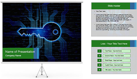 Abstract background PowerPoint Template