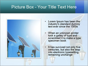 Solar powered PowerPoint Template - Slide 13
