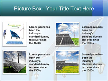 Solar powered PowerPoint Template - Slide 14
