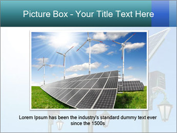 Solar powered PowerPoint Template - Slide 15