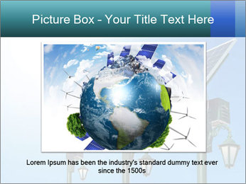 Solar powered PowerPoint Template - Slide 16